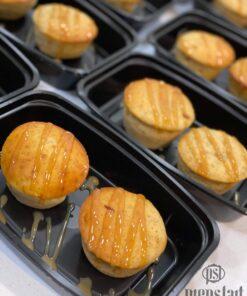 Banana Caramel Protein Muffins