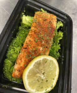 Keto Salmon Meal Prep